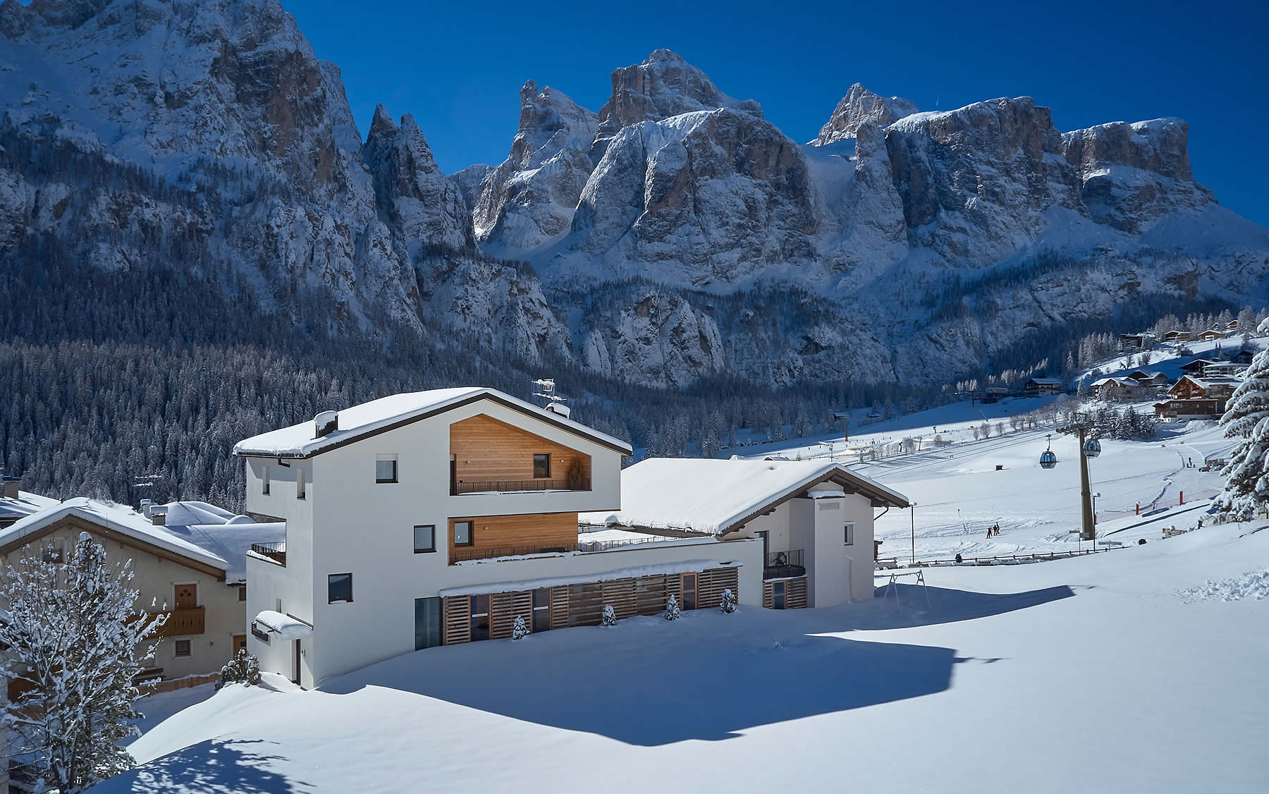 Winter holiday in Alta Badia
