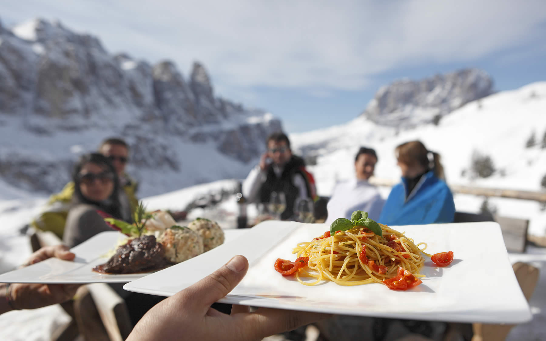 Ladin gastronomy in the huts of Alta Badia