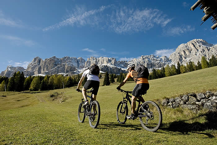 Accomodation for cyclists in Alta Badia